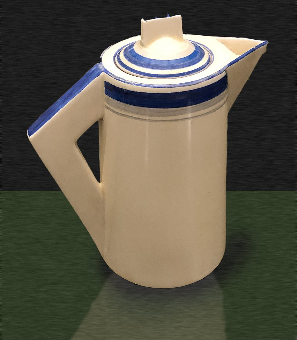 Clarice Cliff Conical Coffee Pot