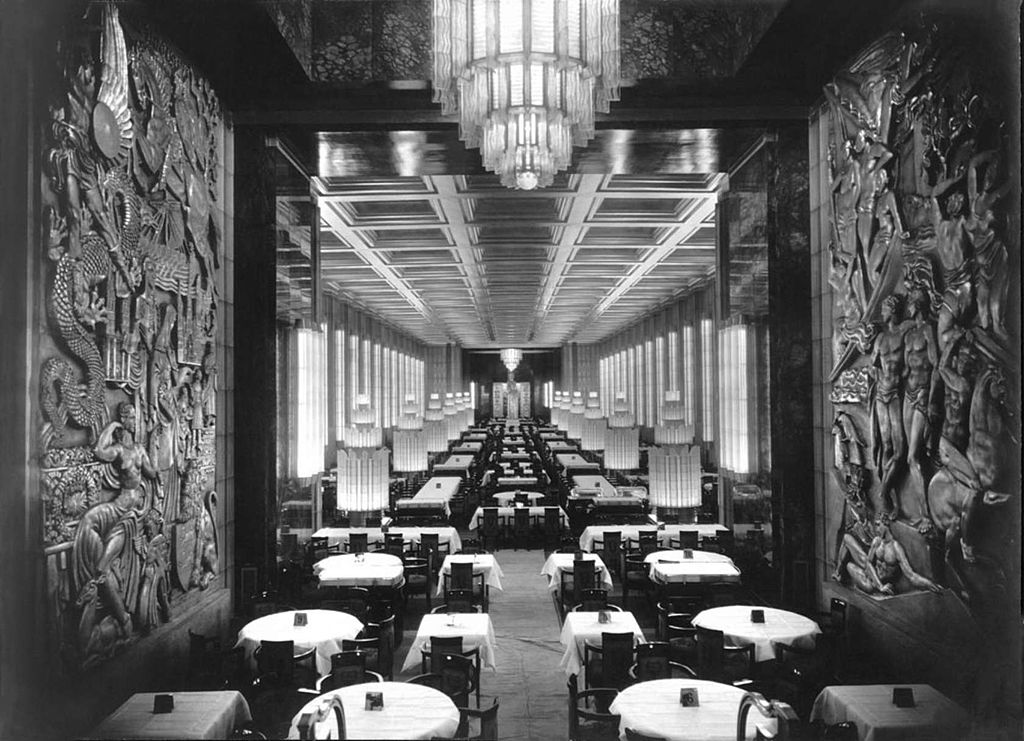 Lalique on the SS Normandie