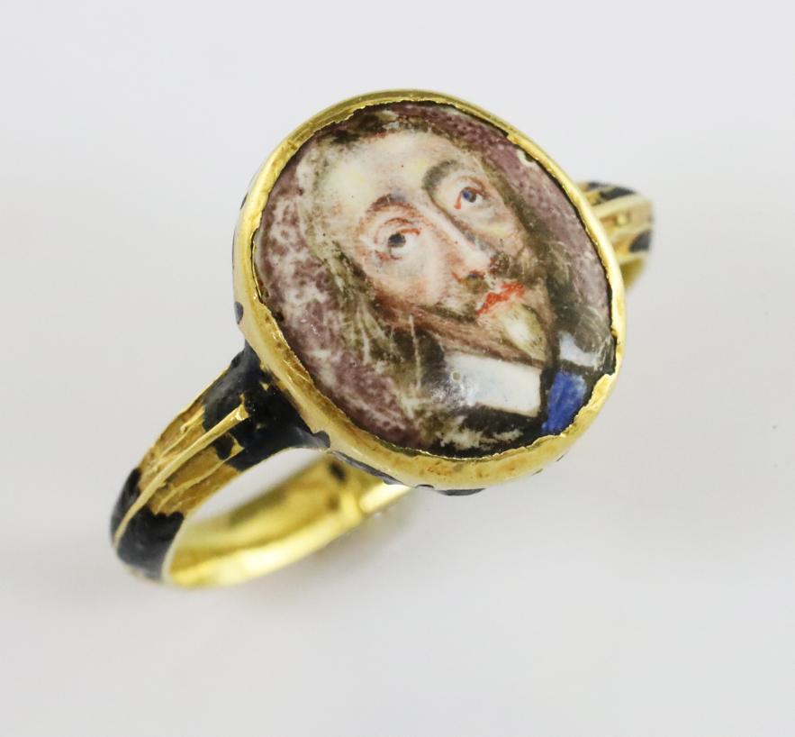 Charles I Memorial Ring