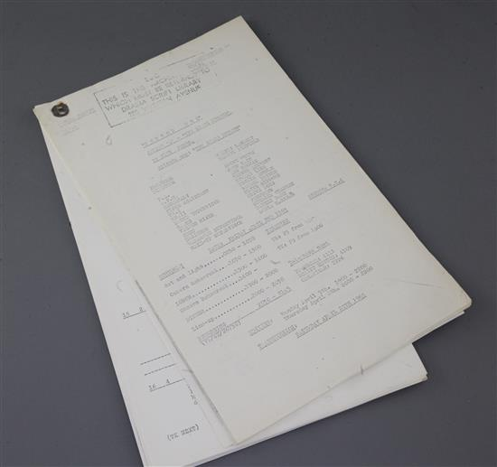 Doctor Who Rehearsal Scripts