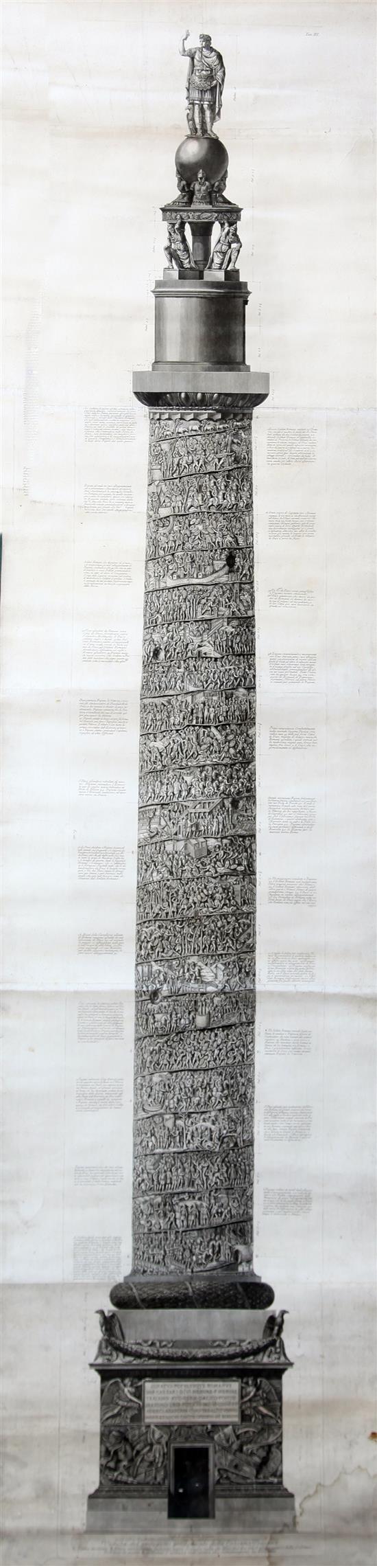 Giovanni Battista Piranesi - Engravings on joined paper