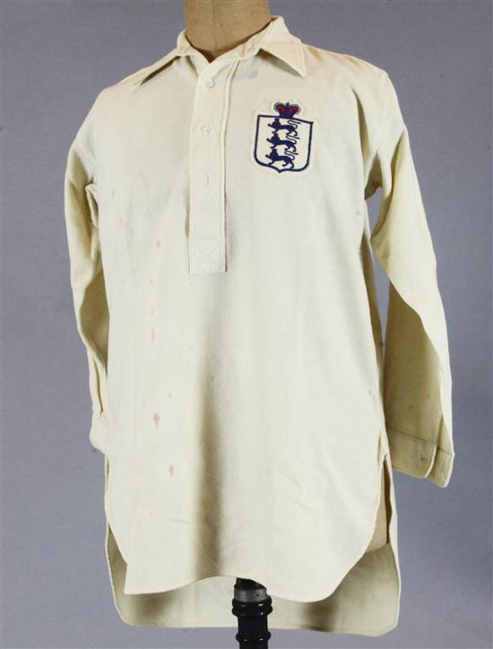 Frank Roberts England International Football Shirt