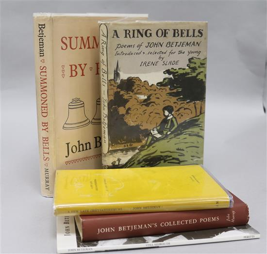 Collection of poetry books by John Betjeman