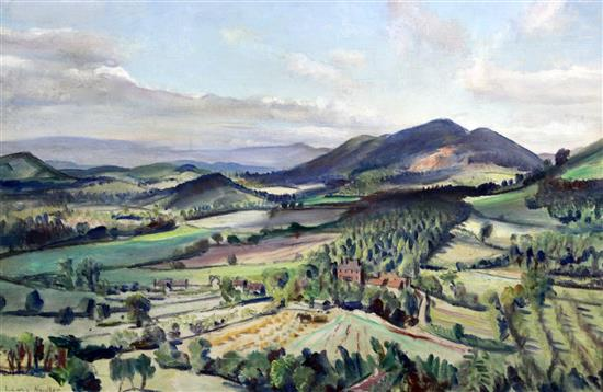 Dame Laura Knight Malvern Hills Painting