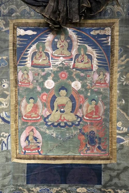 Thangka blessed by the Dalai Lama