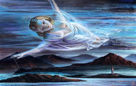 Vladimir Tretchikoff, 'The Dream', oil on canvas